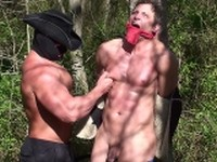 Mike Anthony Back Woods Bondage Buff and Bound