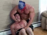 Mike Anthony Bound Muscle Jock Buff and Bound