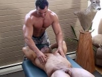 Zeus Diamonte Bound and Tickled at Buff and Bound