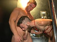 Bound Beard Fuck Bound in Public